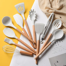 Load image into Gallery viewer, Classy 12-Piece White Marble Utensil Set