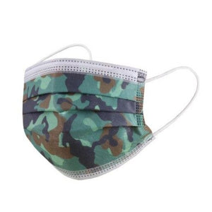 Face Masks: Camo Design