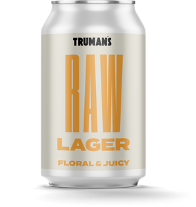 12 x Raw Lager 4.5% 330ml Cans