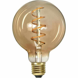 "LED ""Spiralfilament"" gold, Globe, dimmbar - 3 Watt 130 Lumen - LichtFactory"