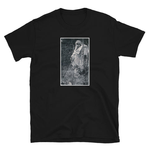 Death And The Woodcutter Leon Augustin Kurzärmeliges Unisex-T-Shirt