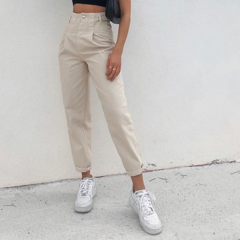 Loose slacks for ladies wq48