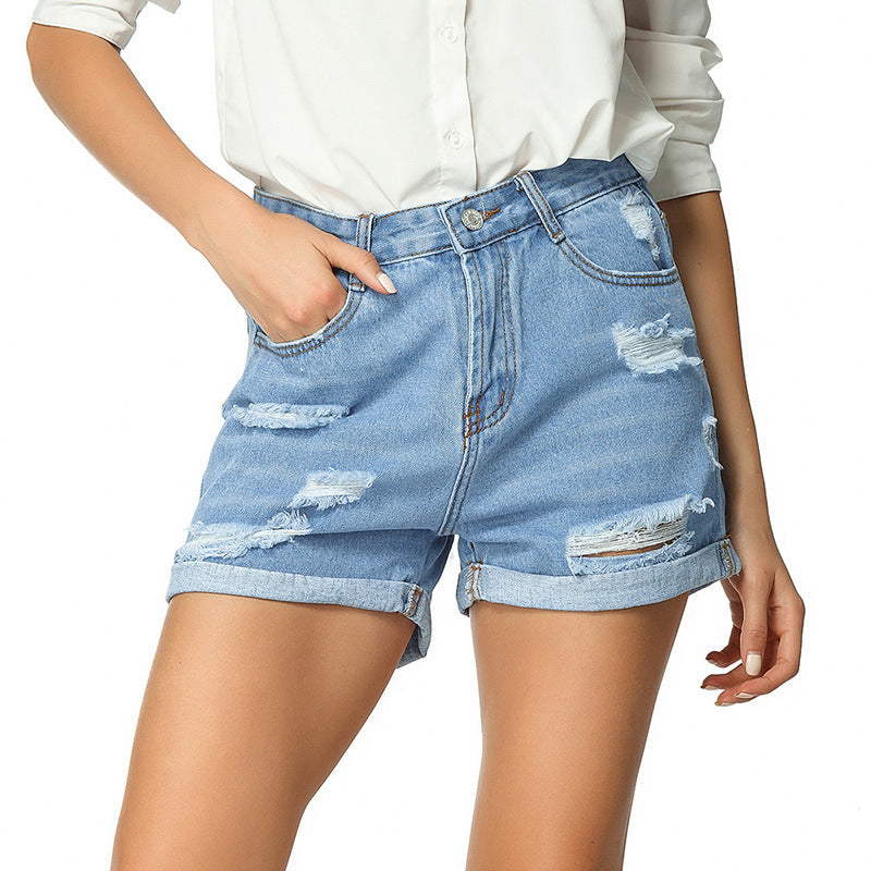 Denim shorts women jeans