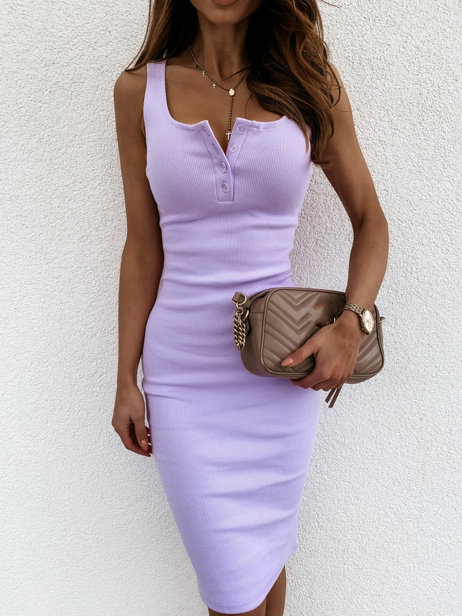 2020 Summer Knited Bodycon Dress