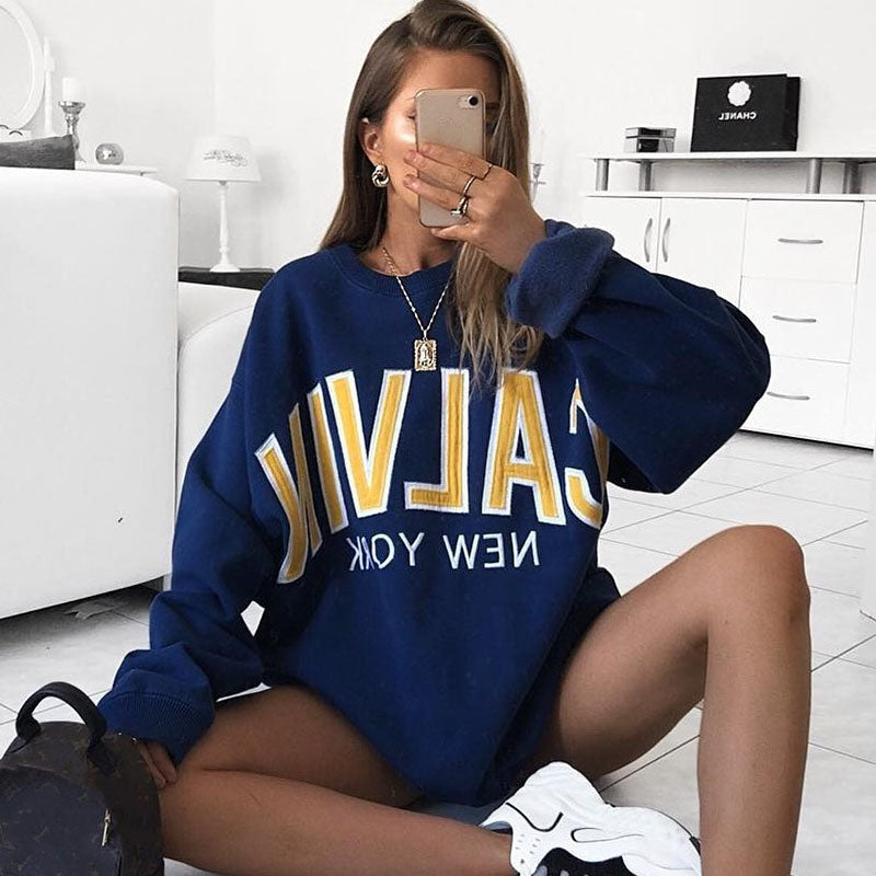 Ladies Fashion Casual Sweatshirt RY55