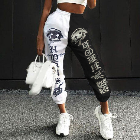 Loose fitness track pants