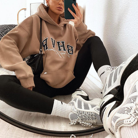 Vintage Loose long sleeve sweatshirt
