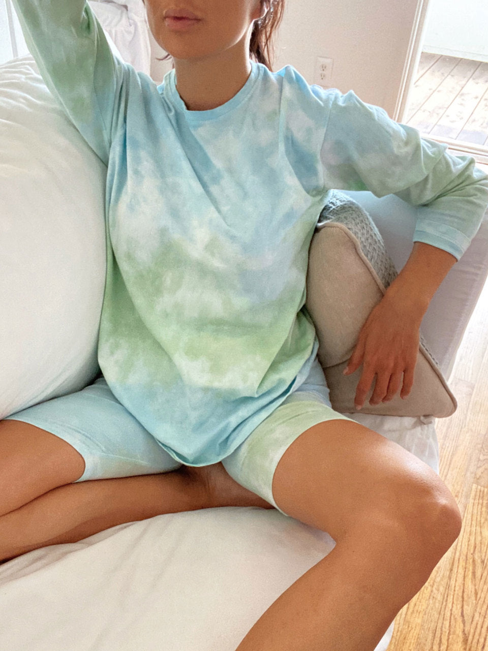 Tie-dye Sea Foam Dream Set