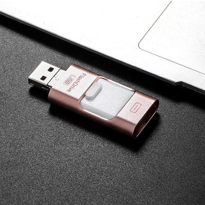 Fancycen Portable USB Flash Drive for iPhone iPad & Android