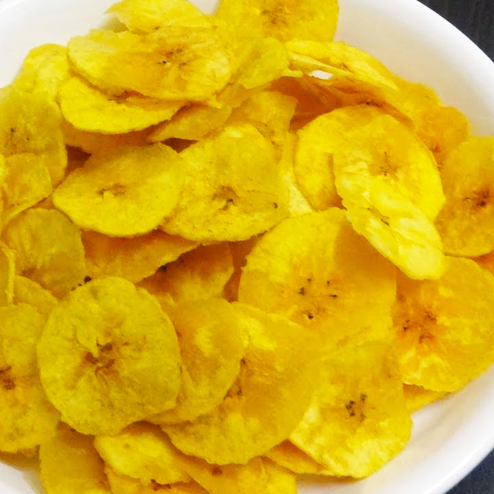 Yellow Banana Chips 100g