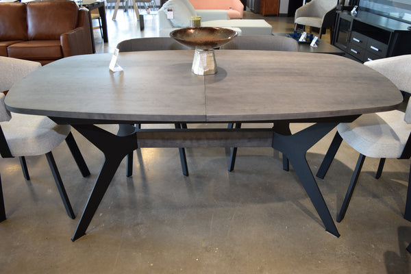 Table ext. 38x72 boomerang +24