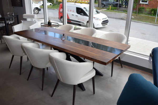 Table 96x39 noyer-quartz