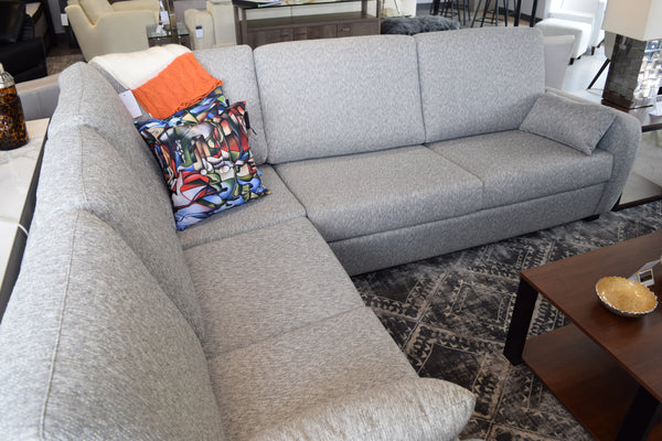 Sectional MB Gray