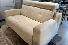 Load image into Gallery viewer, Loveseat VB Cream Reclining Electric