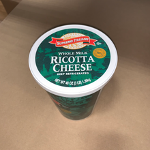 Load image into Gallery viewer, Cheese, Ricotta Whole Milk 3Lbs