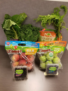 ORGANIC Fruit and Vegtable Assorted product Mix Box
