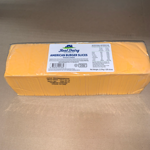 Cheese, American Sliced Yellow 5Lbs