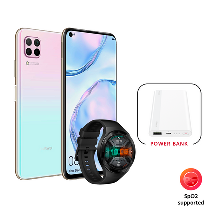 HUAWEI Nova 7i + Watch GT 2e + Power Bank