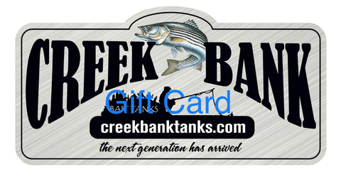 Creek Tank Tanks Gift Cards