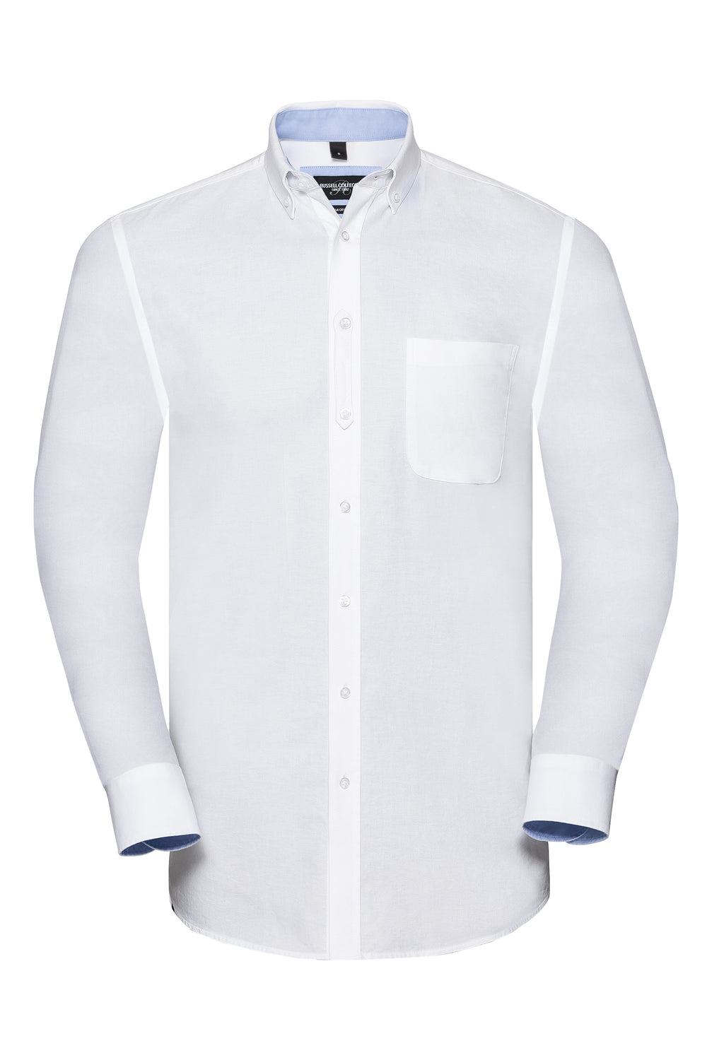 White - Oxford Blue