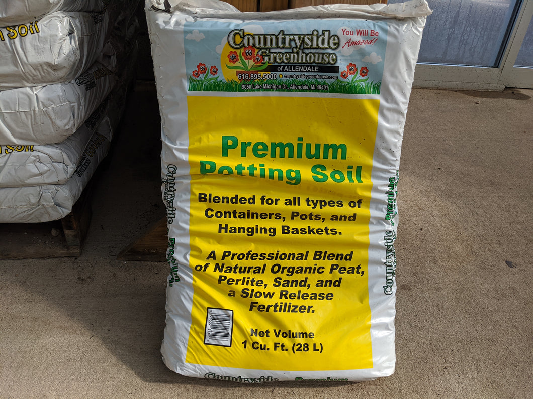 Countryside Potting Soil - 1 cu ft -  Soil - Countryside