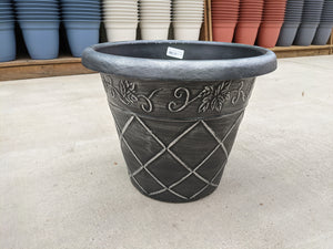 "18"" Lattice Patio Pot"