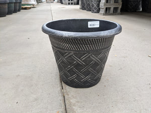 "10"" Lattice Patio Pot"