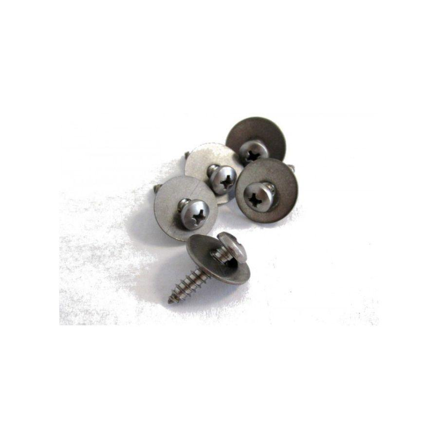 Moses 5x Self-Tapping screws M5X20 And Washers