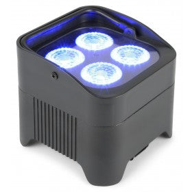 beamZ BBP94 Battery Uplight Par 4x 10W