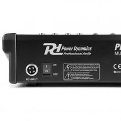PDM-M1204  MixerR 12-Channel With DSP/BT/USB/MP3