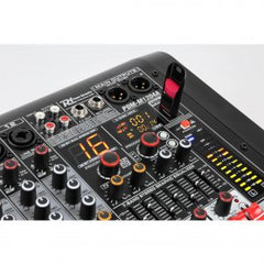 PDM-M1204A POWERED MUSIC MIXER 12-CH DSP/BT/USB/MP3