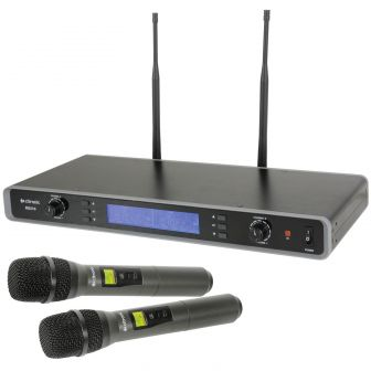 Citronic RU210-H Uhf Dual Wireless Handheld Microphone System