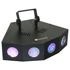 beamZ Mini 4 Head Moon LED light
