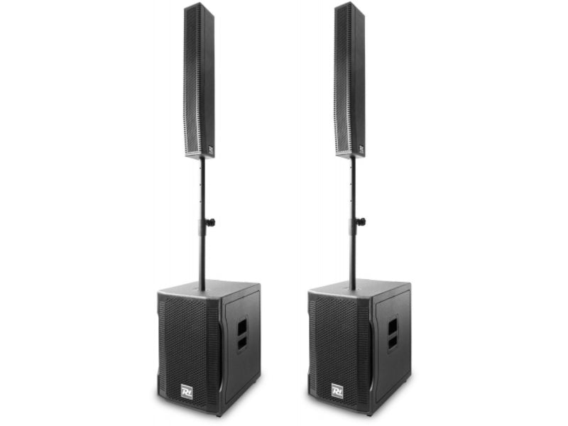 "Power Dynamics PD815A Portable 15"" Portable Array System Left & Right Side"
