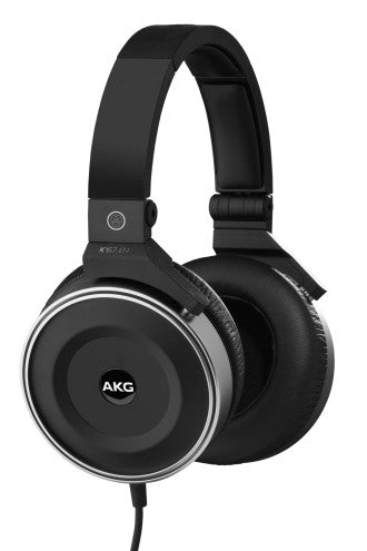 AKG K167 DJ OVER-EAR, CLOSED-BACK PROFESSIONAL DJ HEADPHONES