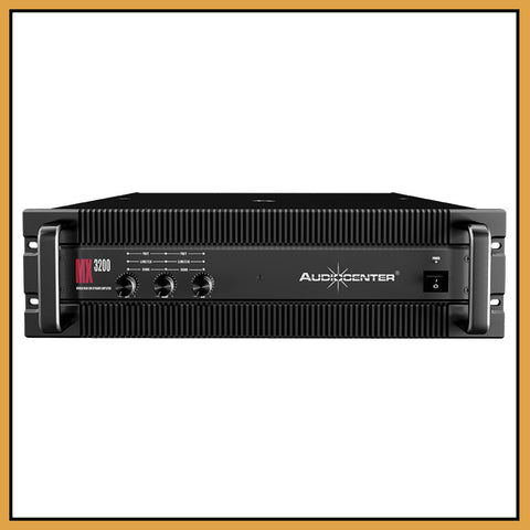 Audiocenter MX3200 3 Channel 2x 350W 1x 850W Power Amplifier