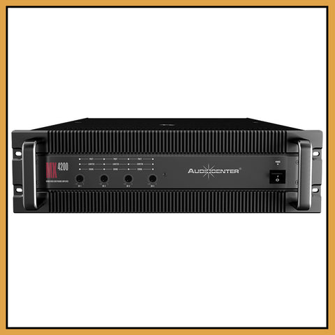 Audiocenter MX4200 4 Channel 4x 210W/Ch Power Amplifier
