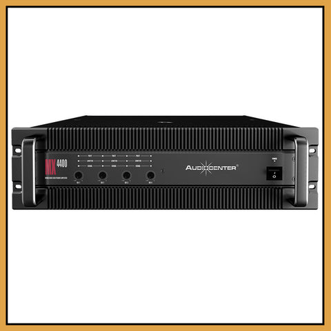 Audiocenter MX4400 4 Channel 4x 400W/Ch Power Amplifier