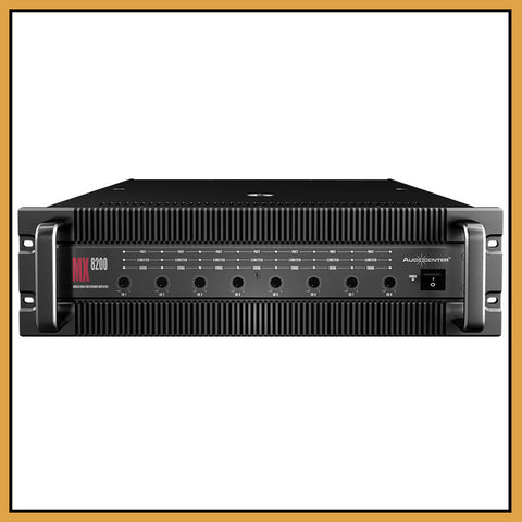 Audiocenter MX8200 8-Channel 8x 210W/Ch Power Amplifier
