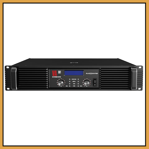 Audiocenter VA 801 2200W Power Amplifier