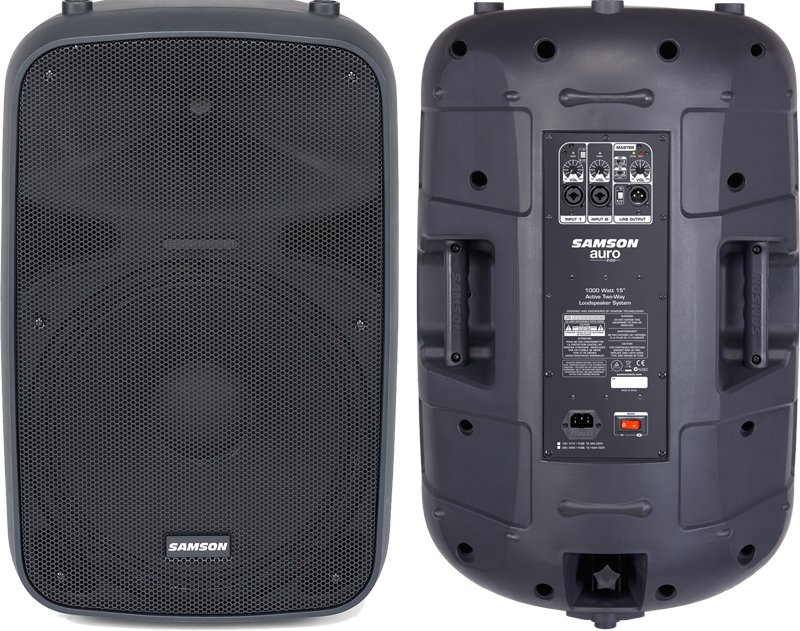 Samson Auro X15D - 1000W 2-Way Active Loudspeakers (Pair)