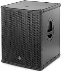 "Behringer EUROLIVE B1800XP Active 2200-Watt PA Subwoofer with 18"" Turbosound Speaker (Single)"