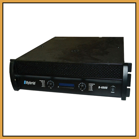 Hybrid B4000 MK5 Power Amplifier