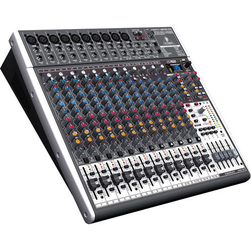 Behringer XENYX X2442USB - 24-Input USB Audio Mixer with Effects