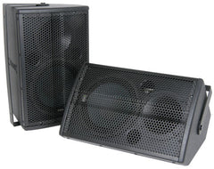 Citronic CX-8088 Fullrange speakers 8in, 100w, black (Pair)