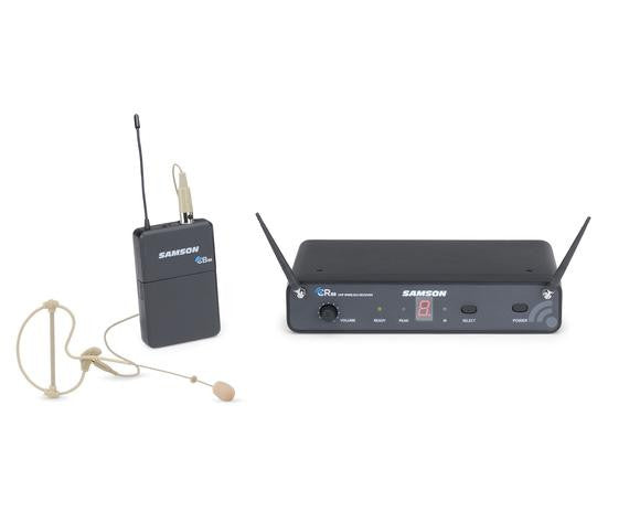 Samson CONCERT 88 Earset/Headset SE10 UHF Wireless Headset Microphone System