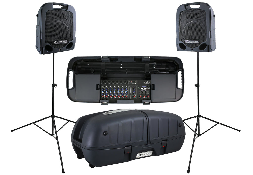 Peavey Escort 5000 500W All-in-One Portable PA System FX & USB MP3 Player