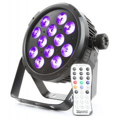 beamZ BT300	LED Flatpar 12X12W 6-1 HEX DMX IRC