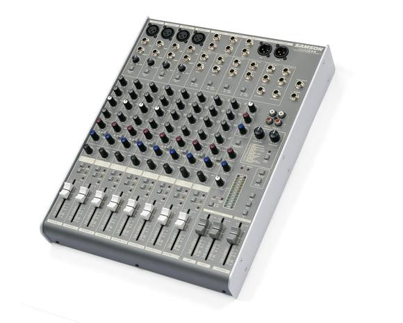 Samson MDR1248  -  12 Channel, 4 Mic/Line Mixer with DSP