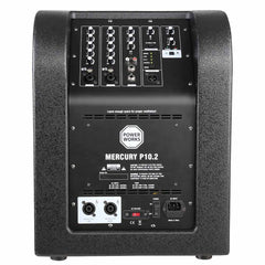 Powerworks MERCURY P10.2 800 Watt Active 2.1 PA System with Mixer, DSP and Bluetooth